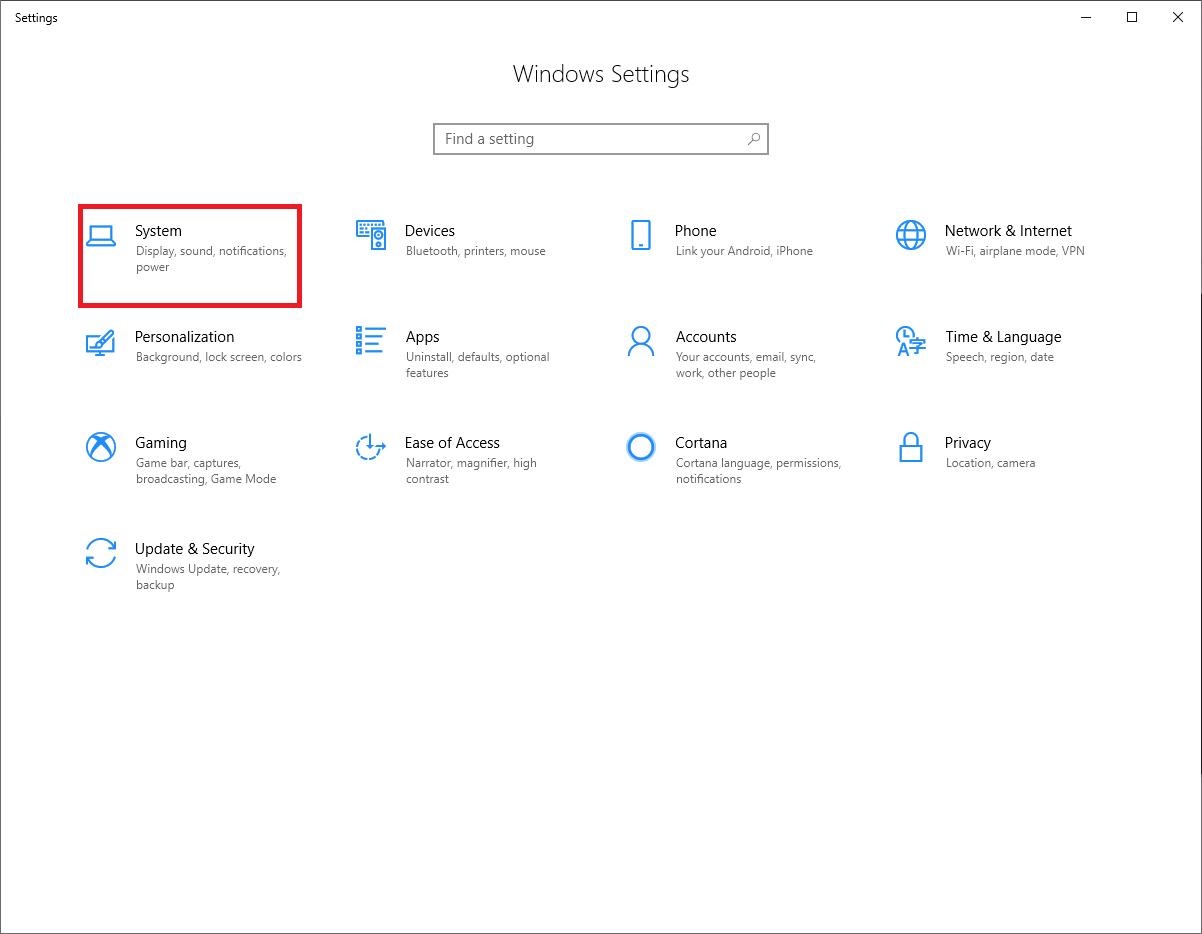 Go To the Windows Setting - Tweaklibrary