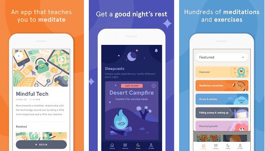Headspace Meditation Apps For Android