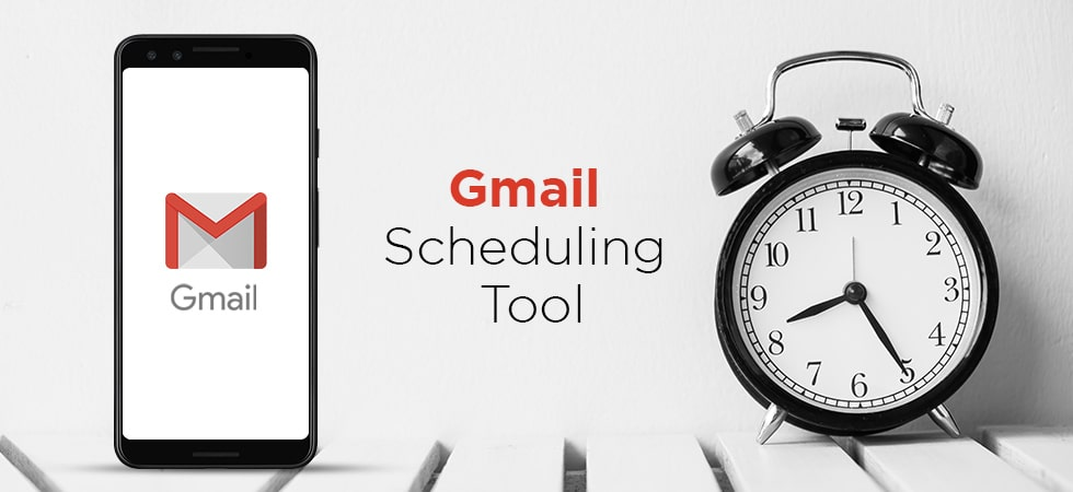 How does Gmail scheduling tool work