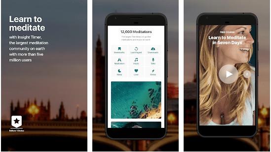 Insight Timer  Free Meditation App