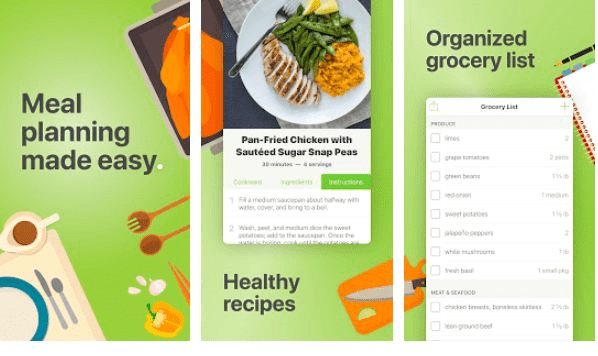 Mealime - Healthy Apps for Foodies