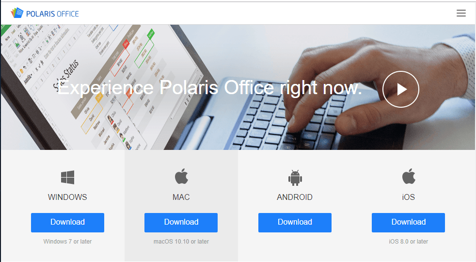 Polaris Office- Mac Alternative to MS Office