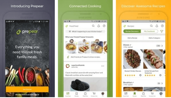 Prepear - Healthy Apps for Foodies