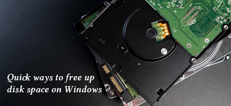 Quick Ways to Free up Disk Space on Windows