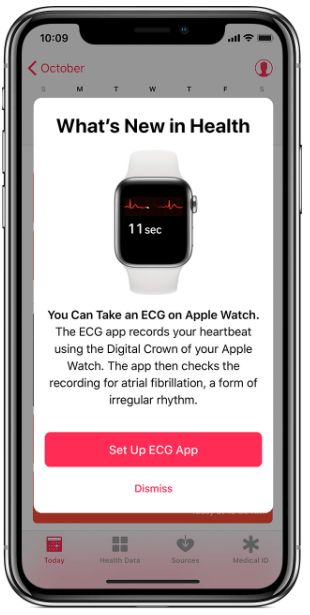 Setup Apple ECG App
