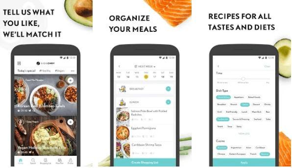 SideChef- food Recipes app