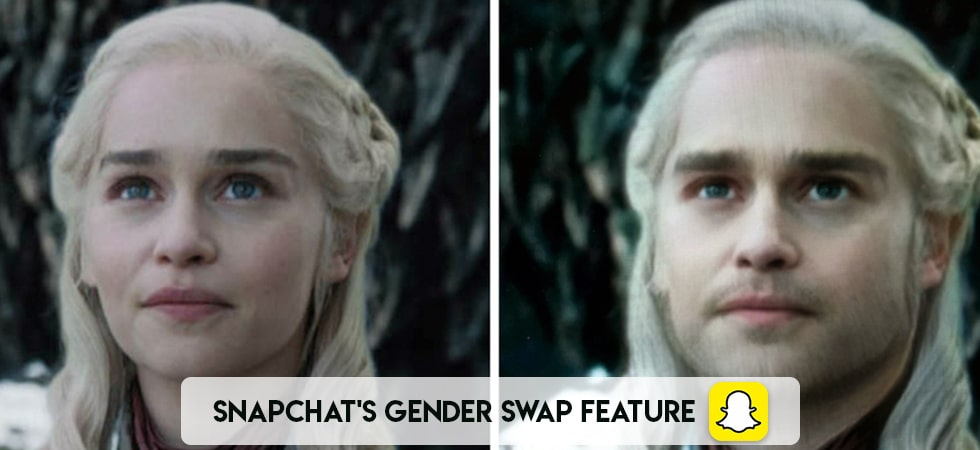 Snapchat's Gender Swap feature