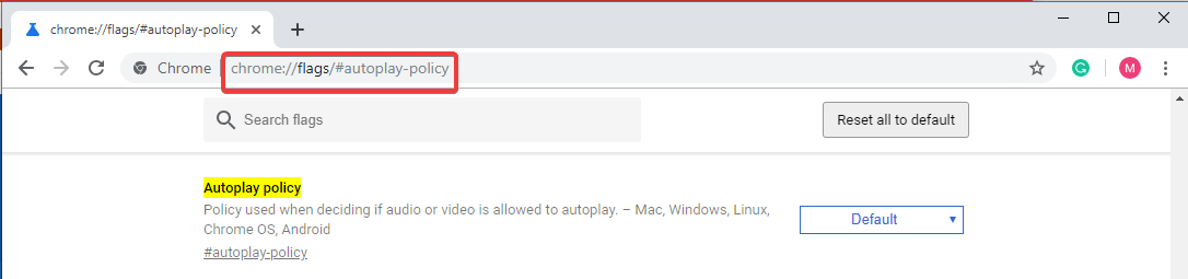 Stop Videos From Playing On Google Chrome