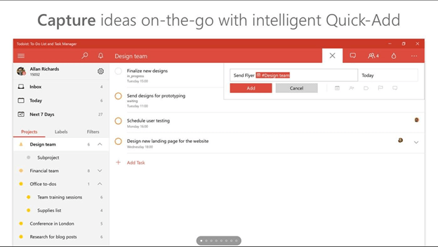 Todoist - To Do Apps for Windows 10