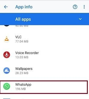 Whatsapp - Manage whatsapp Notification