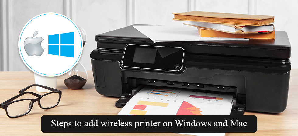 add wireless printer in Windows 10