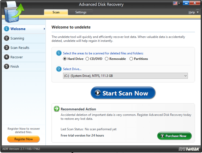 Advanced Disk Recovery - Data Recovery Tool