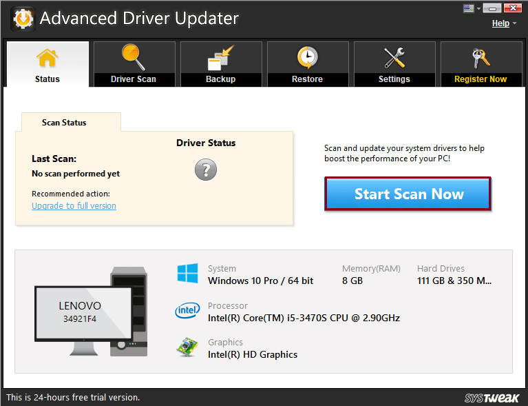 Advanced Driver Updater
