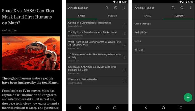 Article Reader Offline App