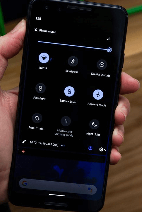 Dark Mode in both Android Q and iOS 13