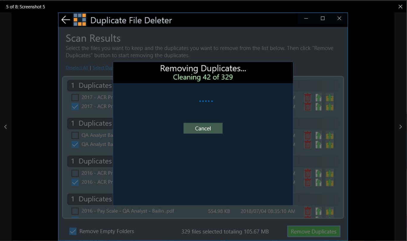 Duplicate File Deleter - Duplicate Music Files Finder Tool