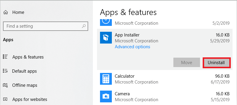 Go to Apps & features and uninstall unfamiliar apps