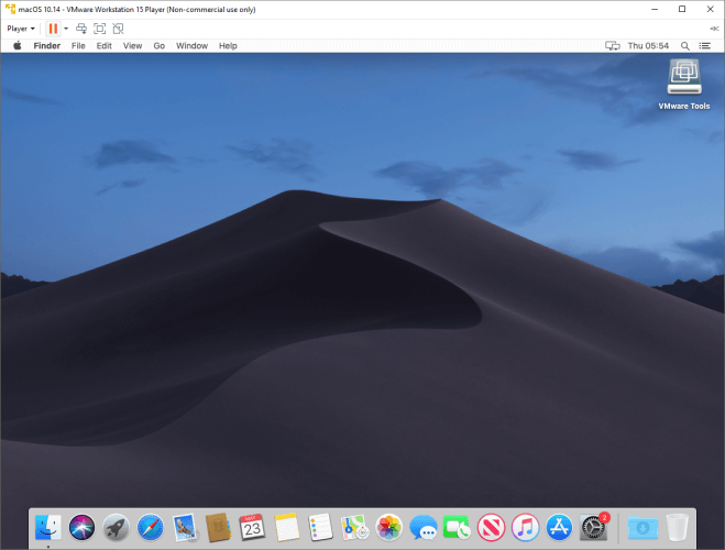 Install the apps on your macOS virtual machine