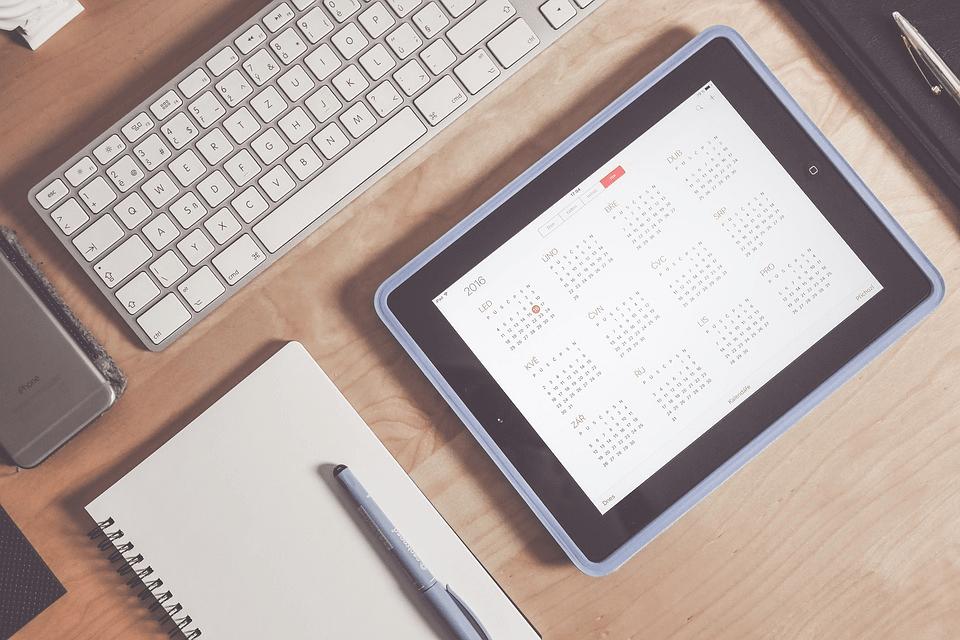 Lack of editorial calendar