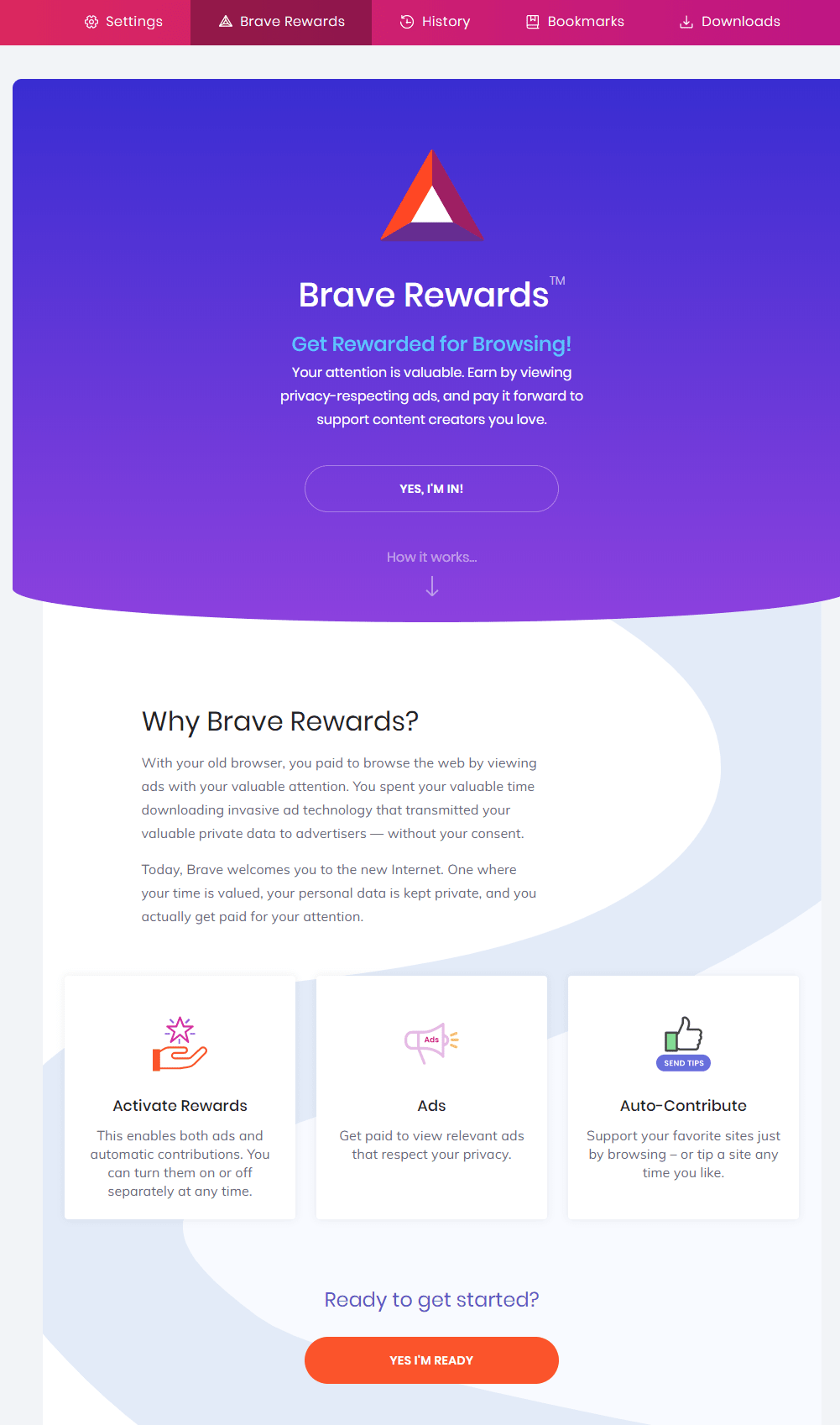 Learn How Brave Rewards Works