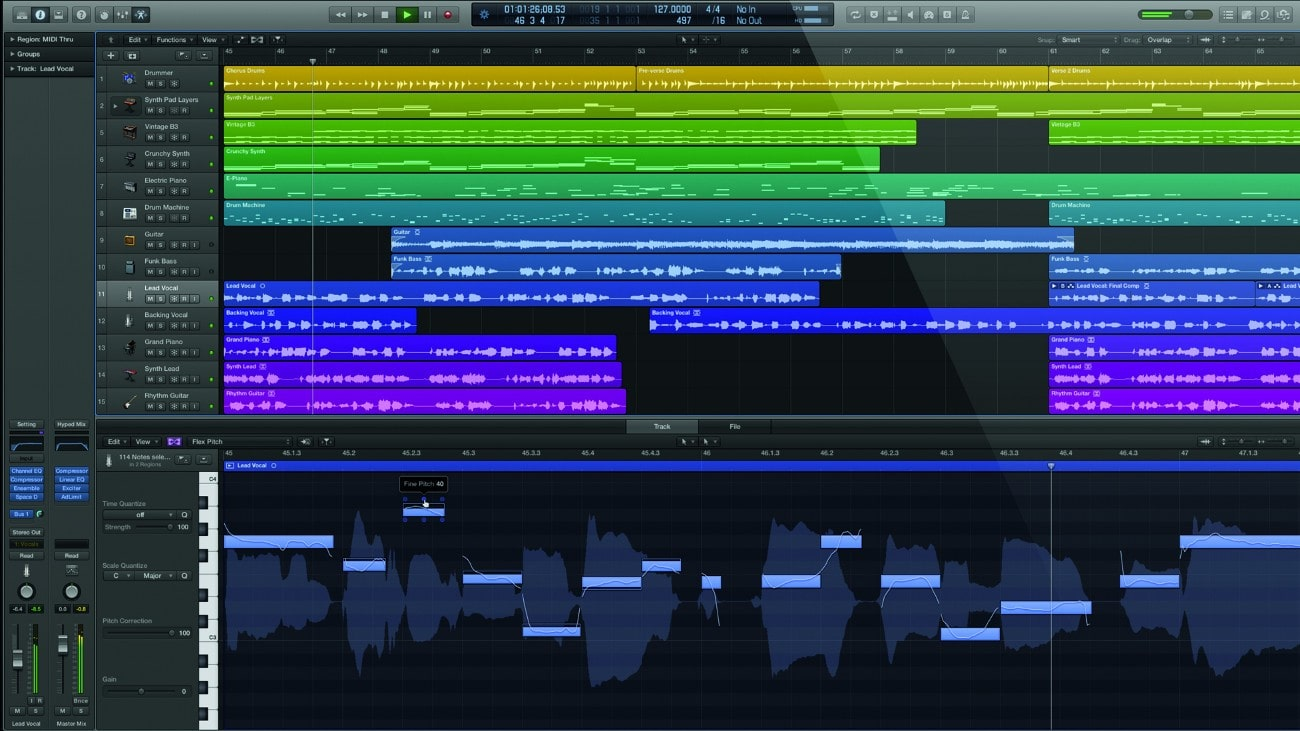 Logic Pro X - Best Music production software