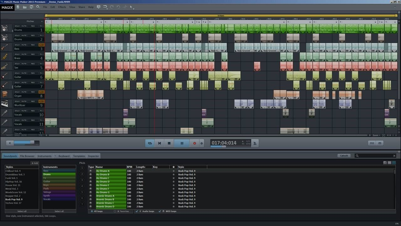 Magix Music Maker - Best Music production software