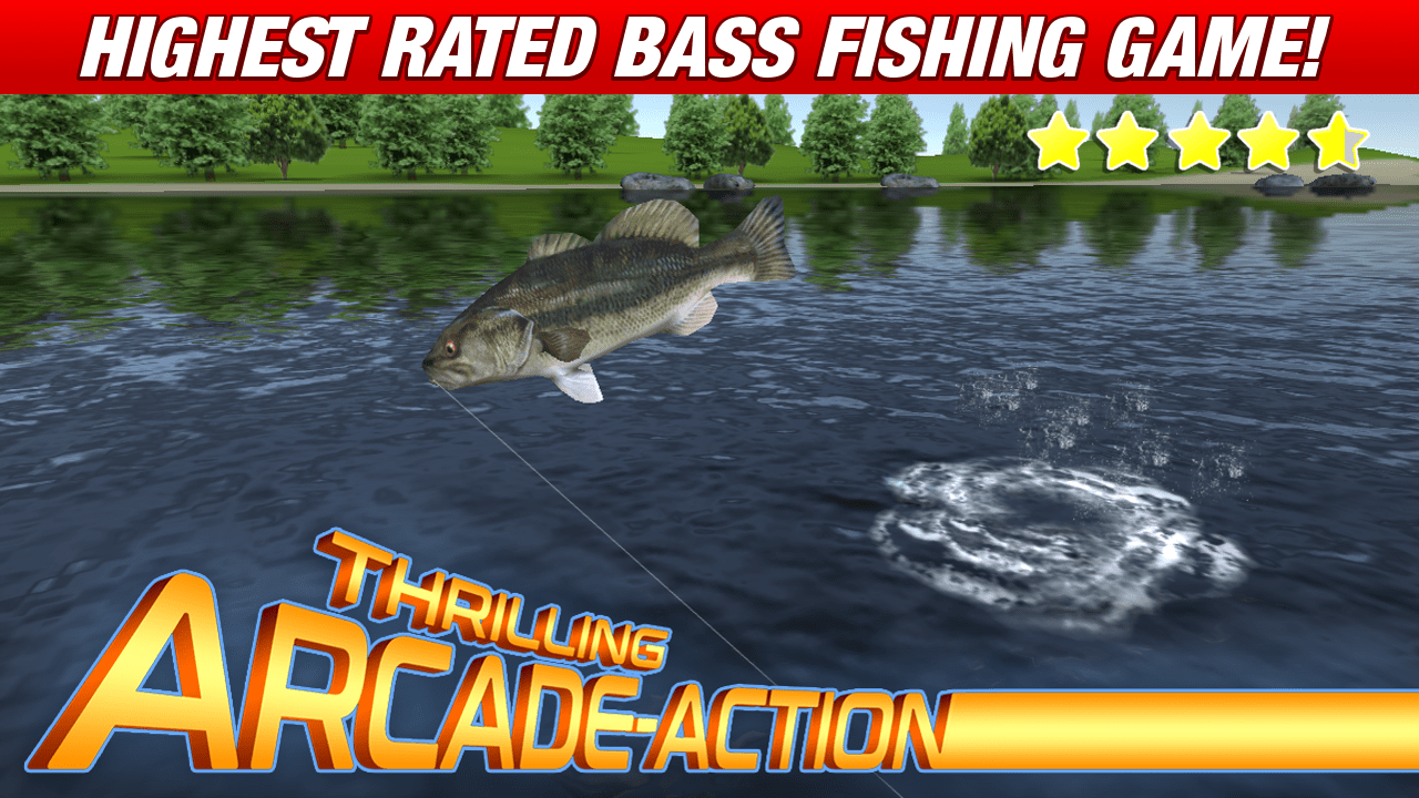 Master bass angler - best fishing games for Android