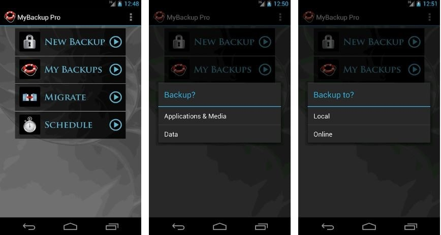 My Backup - Backup apps for android