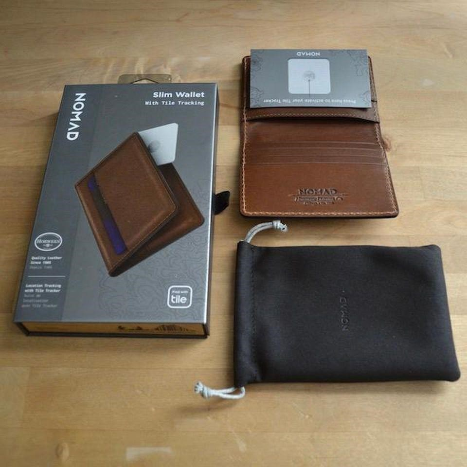 Nomad slim smart wallets