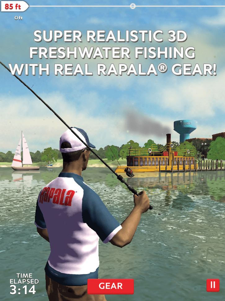 Rapala fishing - best fishing games for Android