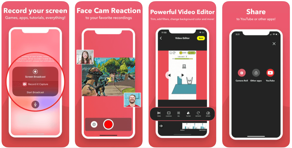 Record It - Screen Recorder App