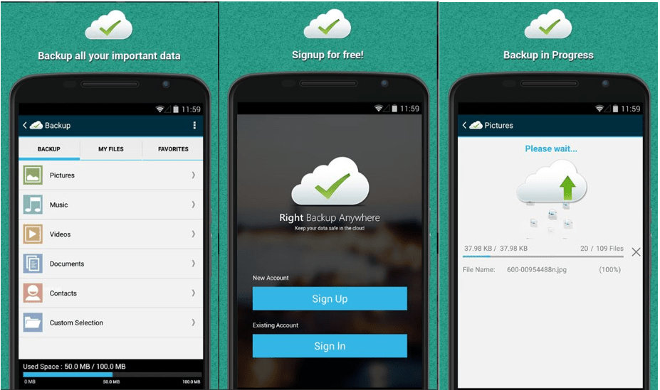 Right Backup - Backup Apps for Android
