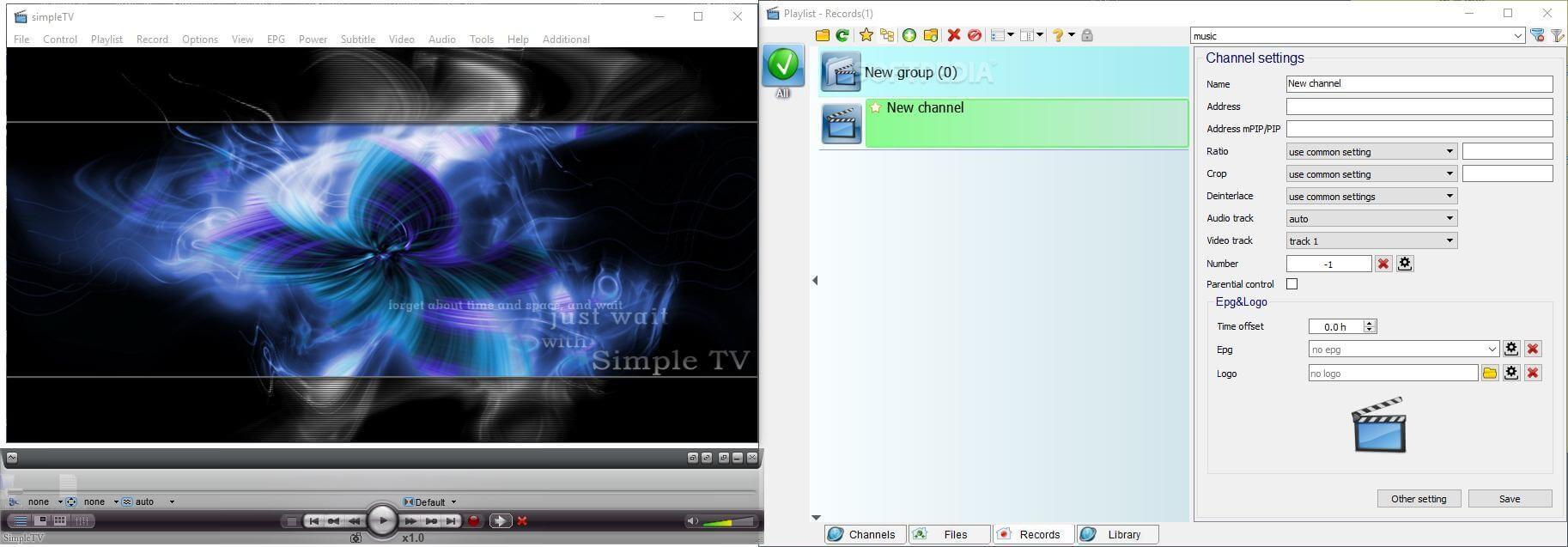 Simple TV - Best IPTV Players for Windows