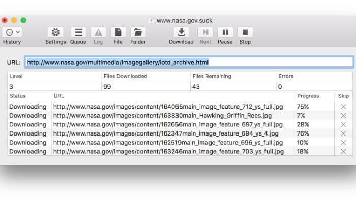 SiteSucker - Website Downloader