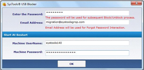 Systools USB Blocker