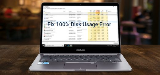Ways to Fix Windows 10 100% disk usage Error Message