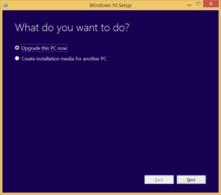 Windows 10 Setup