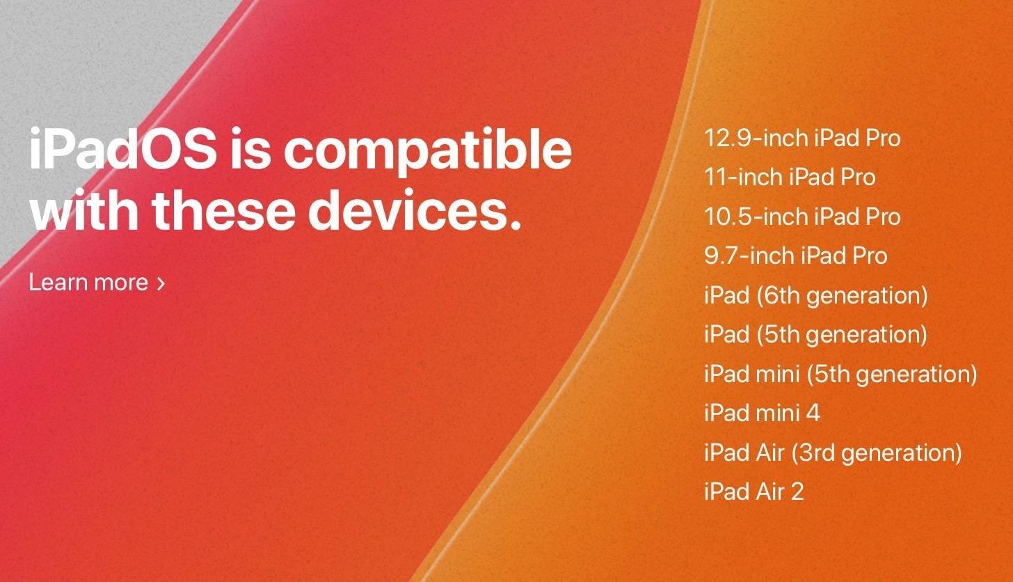 iPadOS 13 Compatibility