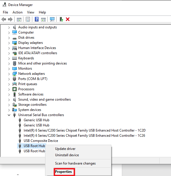 open the Driver Manager