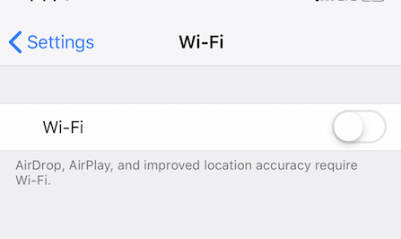 Connect to Wi-Fi Network