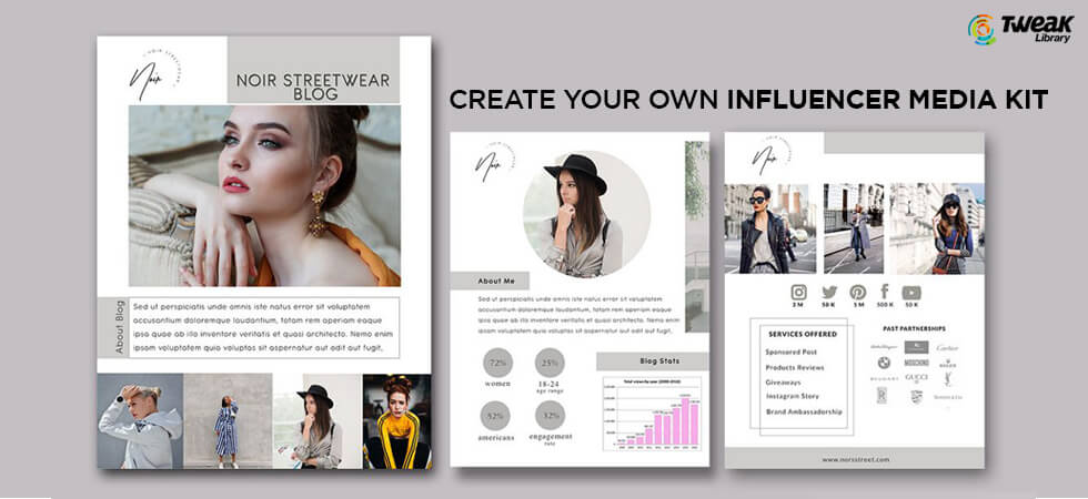 Create Your Own Influencer Media Kit