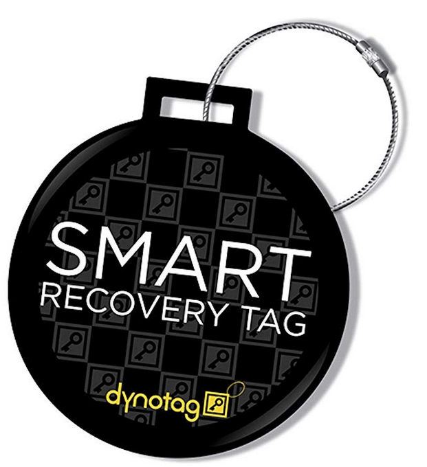 Dynotag smart Luggage ID Tag