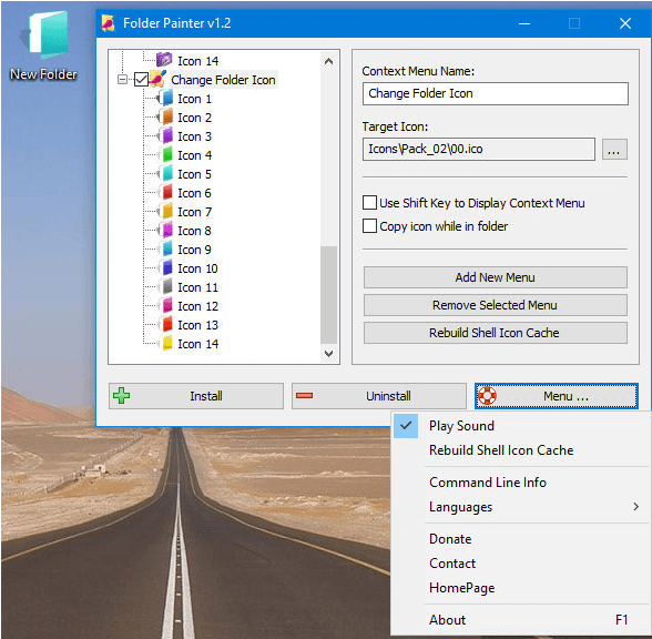 Folder painter - Apps to Color Code Folders in Windows