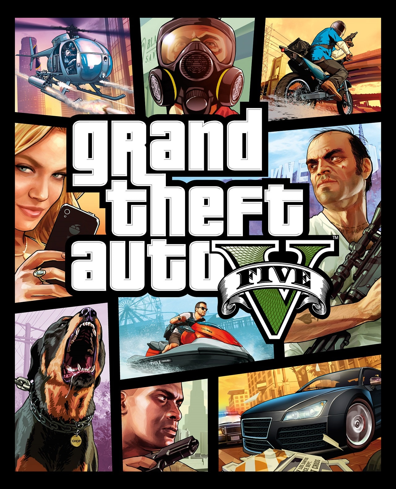 Grand Theft Auto 5 - Single player games