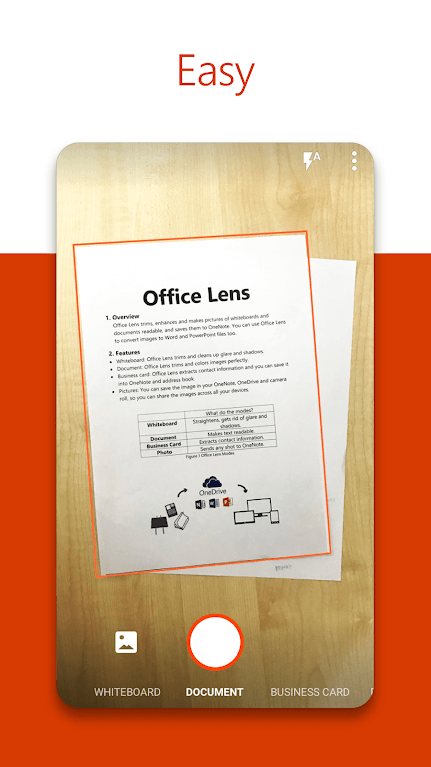 Microsoft Office Lens - Digitizing Handwritten Notes