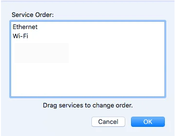Service order