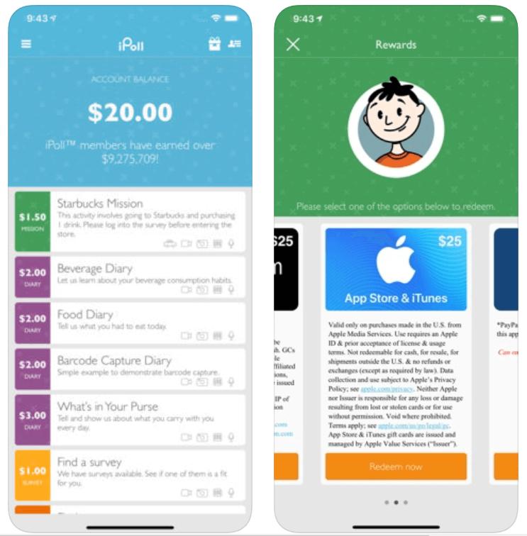 iPoll - Money Making App