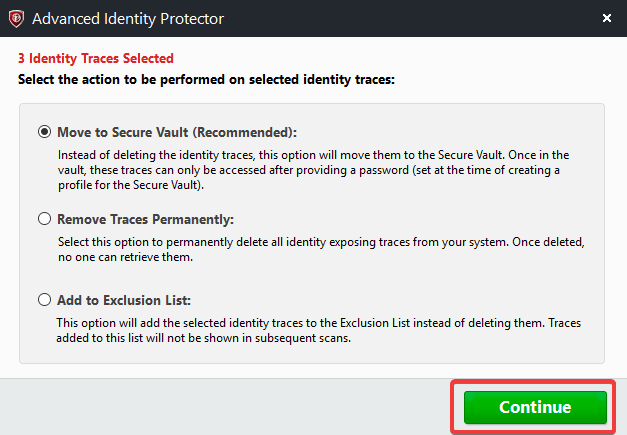 Advanced Identity Protector 2