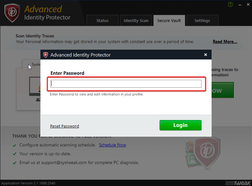 Advanced Identity Protector 6