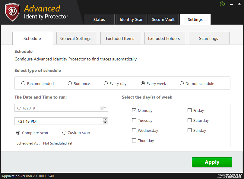 Advanced Identity Protector 8